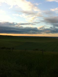 fields and clouds and dreams in the breeze