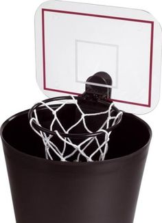 Balvi Paper Bin / Basketball with Sound / Plastic / 2 x AA:Amazon.co.uk:Kitchen & Home