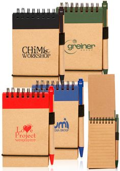 Promotional Jotters Personalized with Your Logo | Order Cheap Jotters Online