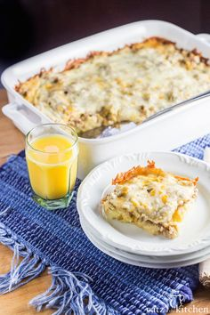 Overnight Sausage, Egg, and Cheese Breakfast Casserole