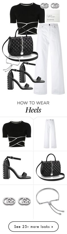 """Untitled #21896"" by florencia95 on Polyvore featuring Vince, T By Alexander Wang, Gucci, Senso, Monica Vinader and NARS Cosmetics"