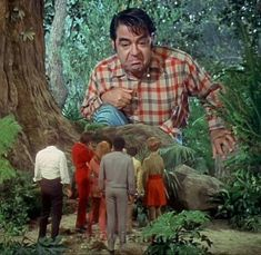 watching The Land of the Giants- a show probably not on for long but I liked