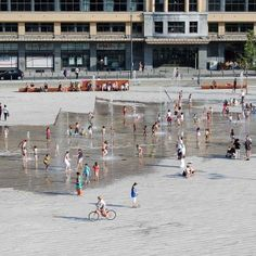 Place Flagey by Latz + Partner «  Landscape Architecture Works | Landezine