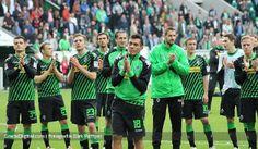 En fotos: Juan Arango le dice adiós al Borussia Mönchengladbach
