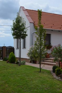 Levendula Apartman Hegykő Hungary Rural House, Traditional House, Hungary, Countryside, Palace, House Plans, Pergola, Cottage, Exterior