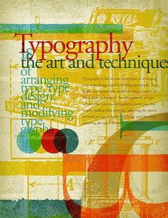 Posters tipográficos incríveis
