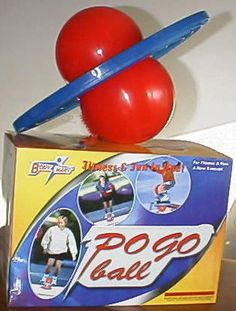 80 Totally Awesome Things From The '80s-- Haha! This PogoBall gave me terrible blisters on the insoles of my feet!