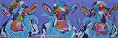 Veelzijdig kleurrijk kunstenares Mir/ Mirthe Kolkman waaronder koeienschilderes. Koe kleurrijke koe koeienkunst kleurrijk kunstwerk koe in de wei hollandse koe gezellige vrolijke koe koeienkop cows from holland cowpainting koeienschilderij koeien schilderen dierenschilderij kalfjes bloemen hartjes grappige koeien koe samen met kalf dutch cows cowartist schilderij kunst art