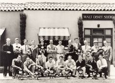Walt Disney Production Team Photograph (c. 1930)