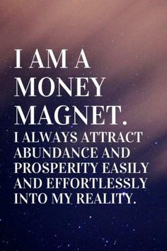 Prosperity Affirmations, Affirmations Positives, Positive Affirmations Quotes, Morning Affirmations, Affirmation Quotes, Affirmations For Money, Gratitude Quotes, Quotes Positive, Manifestation Law Of Attraction