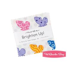 Brighten Up! MINI Charm Pack Me and My Sister Designs for Moda Fabrics | Fat Quarter Shop