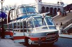 Citroen made this double deck bus in the 1950s for Paris tour operator,  Groupe Cityrama. The French coachbuilder  Currus was commissioned ...