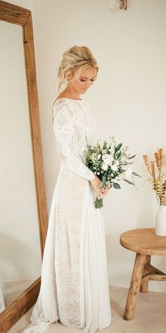 Winter Wedding Dresses And Outfits ❤ See more: http://www.weddingforward.com/winter-wedding-dresses-outfits/ #weddings #Weddingsoutfit