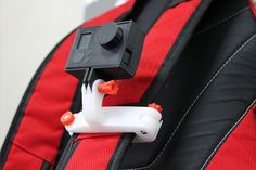 Download GoPro bag strap mount by Stewart Davies - MyMiniFactory.com
