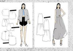 Fashion Sketchbook - fashion illustration; fashion design drawings; fashion portfolio // Sanni Vierela