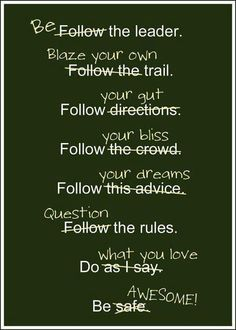 Twist in old sayings