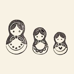 mini russian doll tattoo - Recherche Google