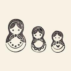 mini russian doll tattoo - Recherche Google