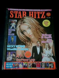 Star Hitz Nicky Byrne, Co E, Pin Up Posters, Books For Boys, Fan Page, Britney Spears, Magazine Covers, Brithney Spears