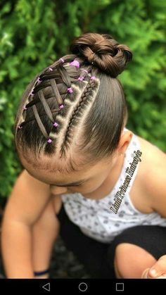 Super hair styles for girls curly 41 ideas Childrens Hairstyles, Lil Girl Hairstyles, Teenage Hairstyles, Kids Braided Hairstyles, Pretty Hairstyles, Natural Hairstyles, Toddler Hairstyles, School Hairstyles, Short Hairstyles For Kids