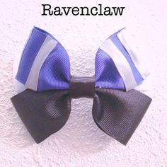 Ravenclaw  Harry Potter ribbon hair bow by EclecticGeekette, $7.00
