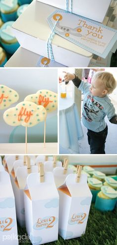... Party on Pinterest  Airplane birthday parties, Airplane party and