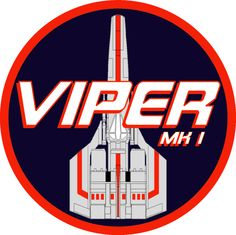 I just started to build the new Moebius Models Viper MK I from the original Battlestar Galactica series and I decided to make a custom flight insignia b. Viper MK I Flight Insignia Kampfstern Galactica, Battlestar Galactica 1978, Starship Troopers, Space Battles, Space Marine, Sci Fi Fantasy, Viper, New Shows, Science Fiction