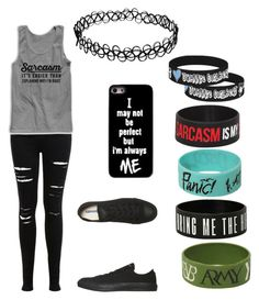 """""""Untitled #31"""" by xxsimplyamandapandaxx ❤ liked on Polyvore featuring Miss Selfridge and Converse"""
