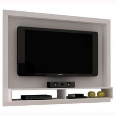 Painel de TV BRV BR 420, Branco em 12X - taQi