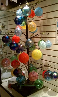 Great hand-made ornaments from Springfield Hot Glass Studio in Springfield, Missouri!