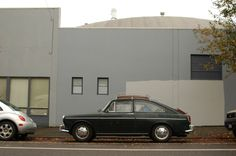 Old Parked Cars.: 1969 Volkswagen Type 3 Fastback.