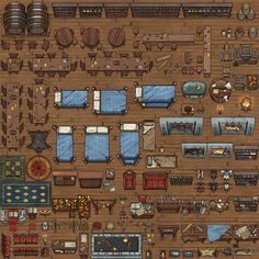 Homebrewing layout Homebrewing layout ArtStation - Township Maps and Props, Michael Fitzhywel Dungeon Tiles, Dungeon Maps, Dungeons And Dragons Homebrew, D&d Dungeons And Dragons, Dungeons And Dragons Miniatures, Fantasy Map Making, Rpg Maker Vx, Arte 8 Bits, Map Symbols