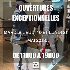 #ModeHomme #Paris.  Ouvertures exceptionnelles de votre magasin Evalon, les mardi 8, jeudi 10 et lundi 21 mai 2018 de 11h00 à 19h00.  10, rue d'Aboukir 75002 Paris. #VêtementsHomme #Sentier.