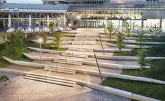 Universitätsterassen | Koeber Landschaftsarchitektur