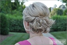 Twisted Updo...for bridesmaids?