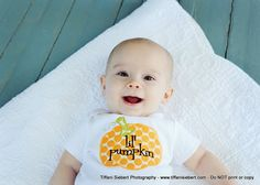 Halloween Pumpkin Bodysuit Thanksgiving Fall Boy by whimsytots, $22.50