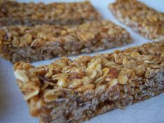 This is onekiller granola bar. It's chewy,bound together with caramel and tastes like abuttered Rice Krispies treat all grown-up with toasted nuts and oats and a little kick of salt. And i…