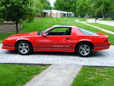camaro iroc z red - Google Search