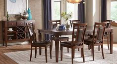 Picture Of Westerleigh Oak 5 Pc Dining Room From Dining Room Sets Amusing Nice Dining Room Tables Design Ideas