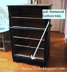 ReNew ReDo!: Repurposed Chest Of Drawers