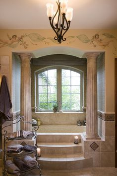 wall drawings    Bathroom Ocean Bath Design, Pictures, Remodel, Decor and Ideas