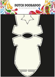 470.713.595 Dutch Doobadoo Card Art rompertje