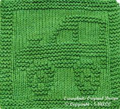 Knitting Cloth Pattern  ARMY JEEP  Instant Download by ezcareknits, $2.85
