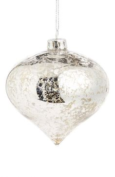 Gold Eagle Mercury Glass Onion Ornament available at #Nordstrom