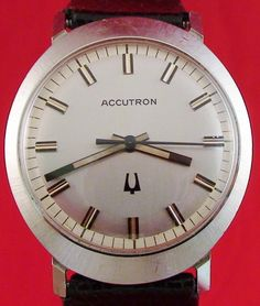 Bulova Accutron 214 Stainless Steel Oval Case 1977 Watch Last Year Produced | eBay