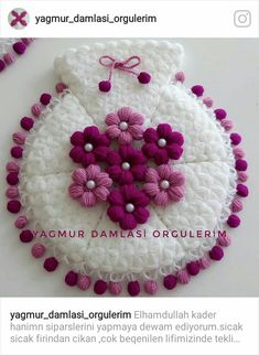 Heart stitch is one of the most famous crochet stitches out there. Some call it a puff stitch. Crochet Dollies, Crochet Art, Crochet Patterns, Crochet Flower Tutorial, Crochet Flowers, Homemade Crafts, Diy And Crafts, Crochet Toilet Roll Cover, Woolen Craft
