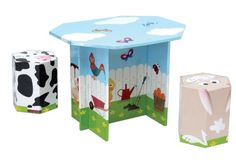 Kids 3 Piece Table and Chair Set >>> To view further for this item, visit the image link.