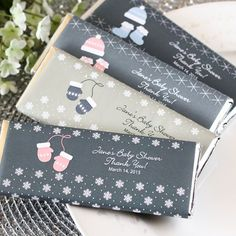 Personalized Exclusive Baby Shower Chocolate Bars