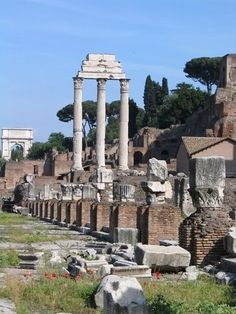 Ruins of Pompeii, Pompeii, province of Naples, Campania region Italy