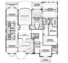 Plan W32156AA: Mediterranean, Luxury, Premium Collection, Corner Lot, Spanish, Photo Gallery, Florida House Plans & Home Designs